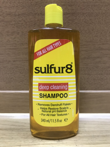 Sulfur8  Deep Cleaning Shampoo - 340ml